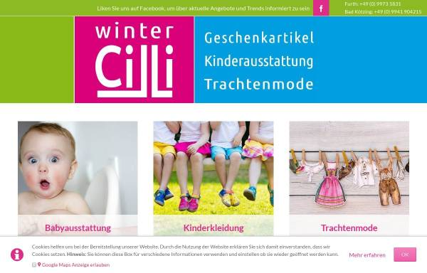 Vorschau von www.babyetage.de, Winter´s Babys- und Kids-Fashion