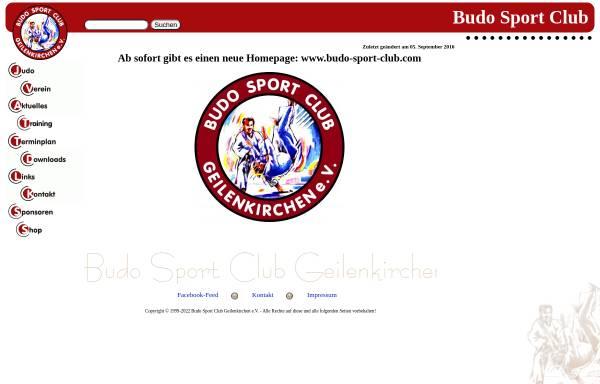 Vorschau von www.budo-sport-club.de, Budo Sport Club Geilenkirchen e.V.