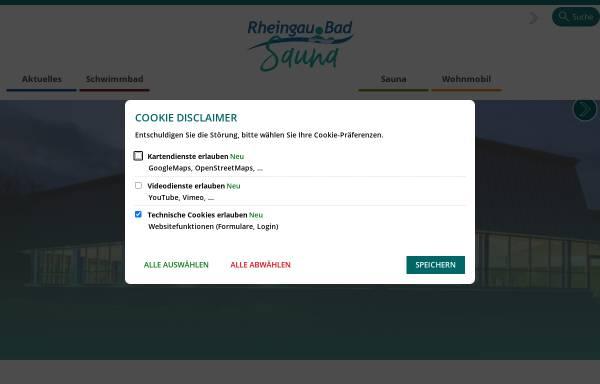 Vorschau von www.rheingau-bad.de, Rheingau Bad,
