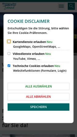 Vorschau der mobilen Webseite www.rheingau-bad.de, Rheingau Bad,