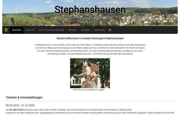 Vorschau von www.stephanshausen.de, Stephanshausen