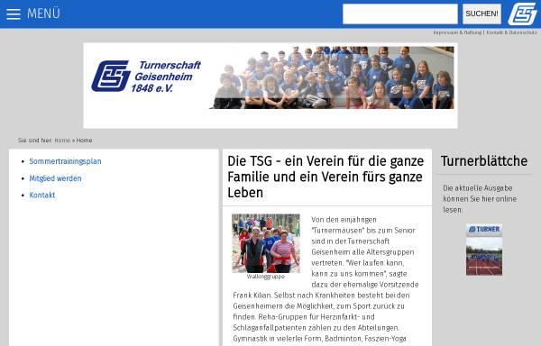 Vorschau von www.ts-geisenheim.de, TS Geisenheim