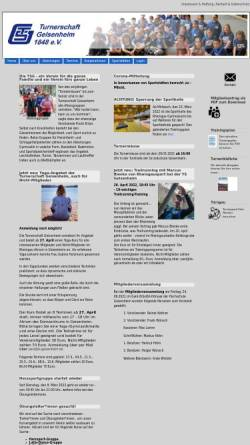 Vorschau der mobilen Webseite www.ts-geisenheim.de, TS Geisenheim