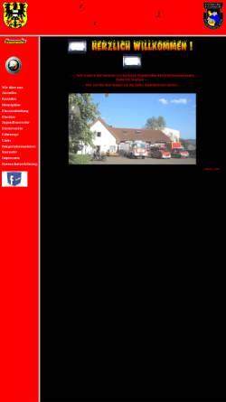 Vorschau der mobilen Webseite www.feuerwehrroth.de, Freiwillige Feuerwehr Gelnhausen Roth