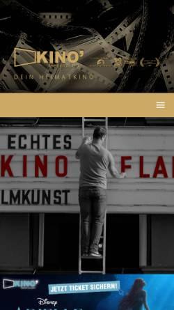 Vorschau der mobilen Webseite www.kino-gelnhausen.de, Kino