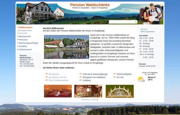 Pension Waldschaenke: Geyer, Städte und Gemeinden pension ...