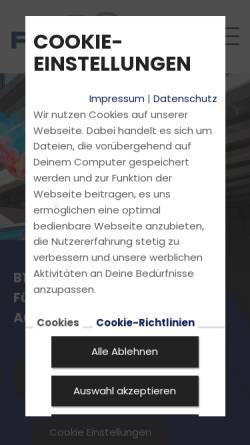 Vorschau der mobilen Webseite www.fahrschuleesch.de, Fahrschule Esch