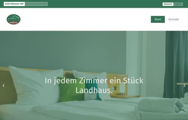 Vorschau von www.alznauerhof.de, Alznauer Hof