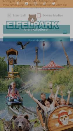 Vorschau der mobilen Webseite www.eifelpark.com, TerraVentura Hotel Resort Spa