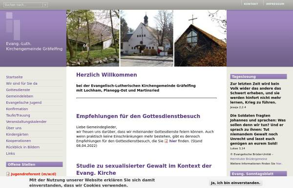 Vorschau von www.graefelfing-evangelisch.de, Friedenskirche