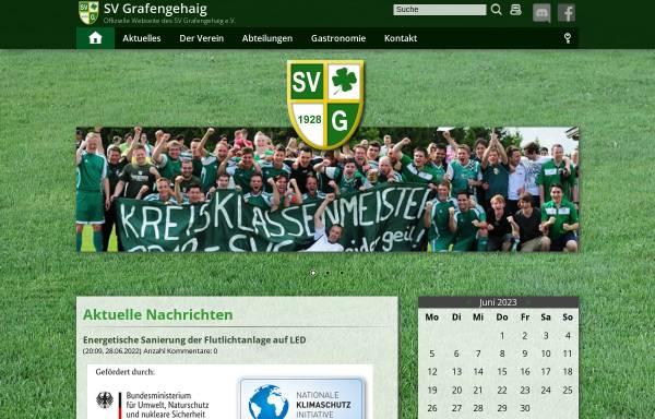 Vorschau von www.sv-grafengehaig.de, Sportverein Grafengehaig e.V.