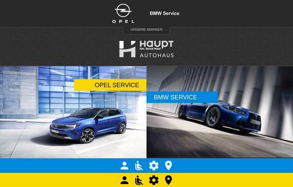 Vorschau von www.autohaus-haupt.com, Autohaus Haupt GmbH
