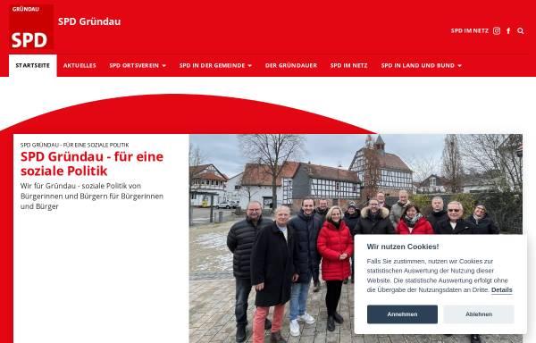 Vorschau von spd-gruendau.de, Ortsverein SPD Gründau