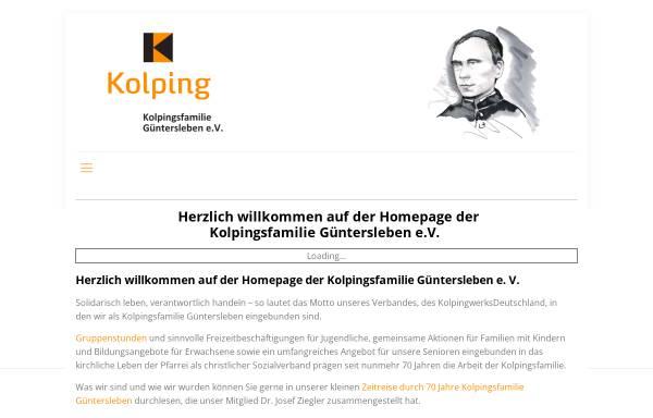Vorschau von kolping-gue.de, Kolpingsfamilie Güntersleben e.V.
