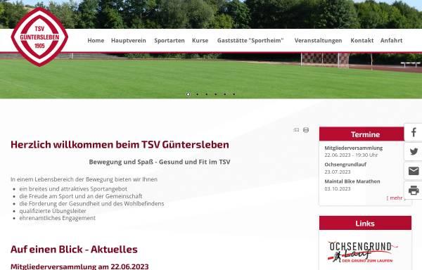 Vorschau von www.tsv-guentersleben.de, TSV Güntersleben