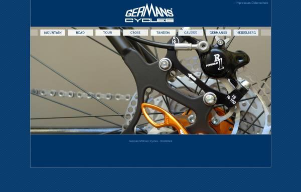 Vorschau von www.germans-cycles.de, German Möhren Cycles GmbH