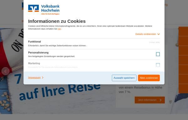Vorschau von www.vbj.de, Volksbank-Jestetten