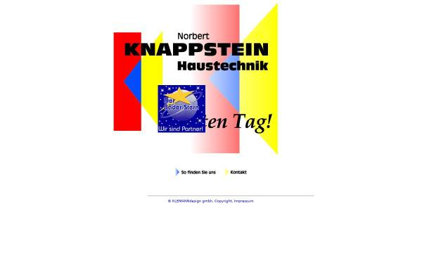 Vorschau von www.knappstein-haustechnik.de, Knappstein-Haustechnik