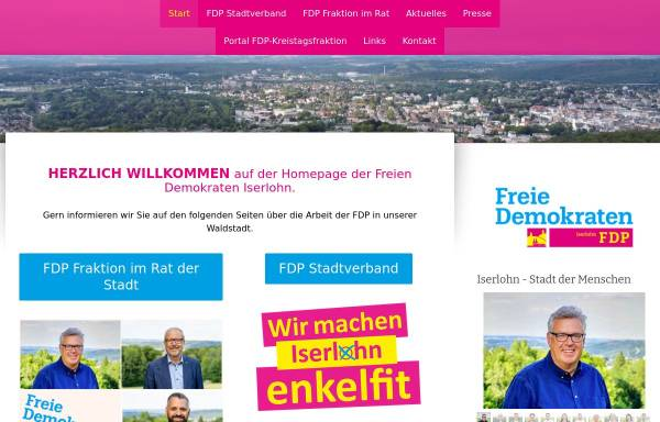 Vorschau von www.fdp-iserlohn.de, FDP Iserlohn