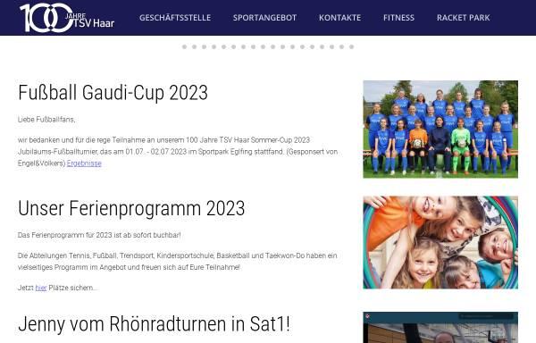Vorschau von www.tsv-haar.de, TSV Haar e.V.