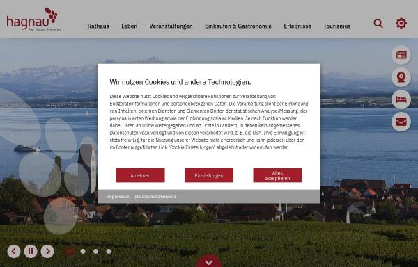 Vorschau von www.hagnau.de, Hagnau