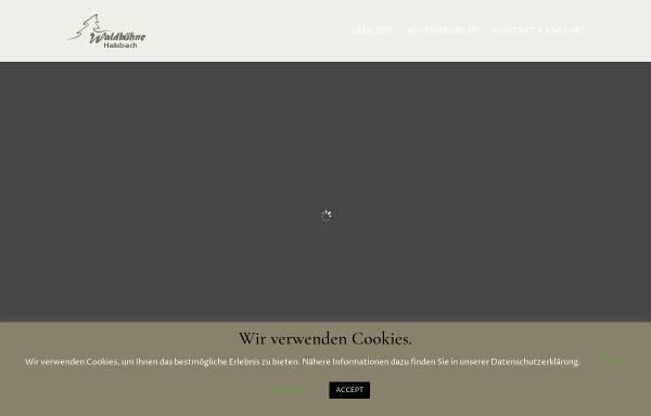 Vorschau von www.waldbuehne-halsbach.de, Halsbach
