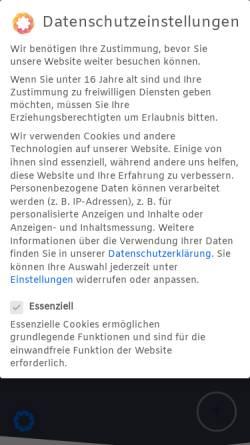 Vorschau der mobilen Webseite www.hotel-restaurant-fuchs.de, Hotel Restaurant Fuchs