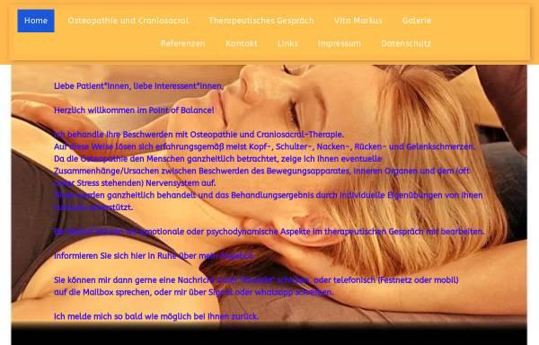 Vorschau von www.point-of-balance.de, Decker, Markus