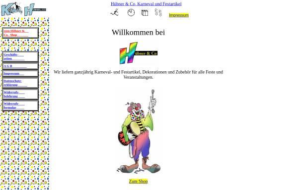 Vorschau von huebner-co.de, Hübner & Co