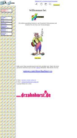 Vorschau der mobilen Webseite huebner-co.de, Hübner & Co