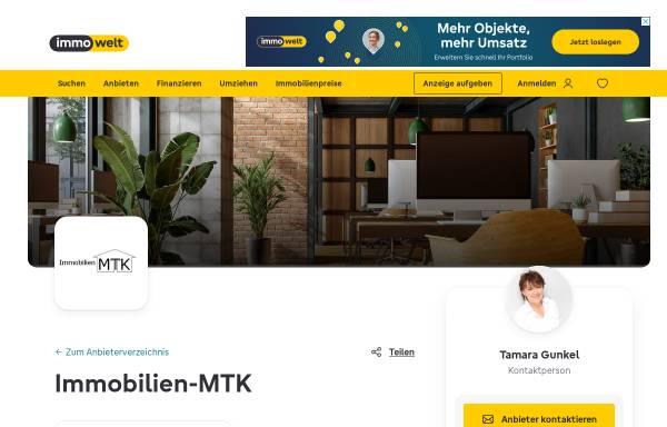 Vorschau von www.immobilien-mtk.de, Immobilien MTK