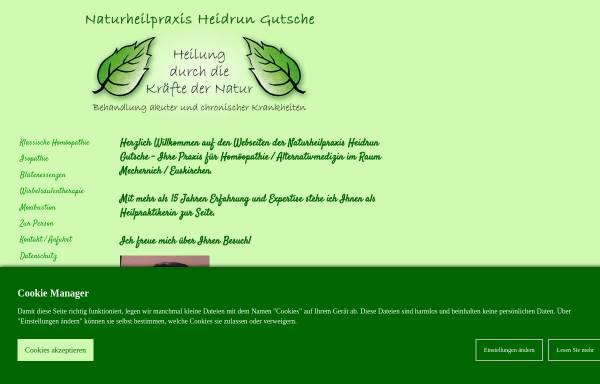 Vorschau von www.heidrungutsche.de, Gutsche, Heidrun