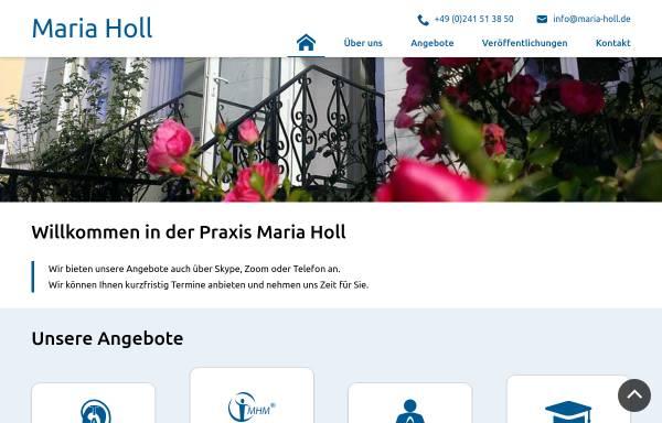 Vorschau von www.maria-holl.de, Holl, Maria