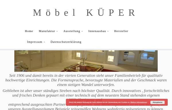 Vorschau von www.kueper-moebel.de, Möbel Küper