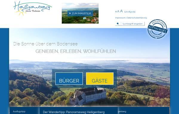 Vorschau von www.heiligenberg.de, Heiligenberg