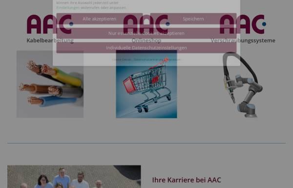 Vorschau von www.aac-kabelbearbeitung.de, AAC Kabelbearbeitungssysteme GmbH