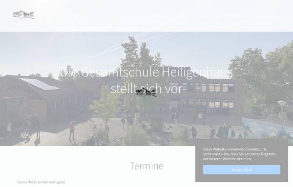 Vorschau von www.gesamtschule-heiligenhaus.de, Gesamtschule Heiligenhaus
