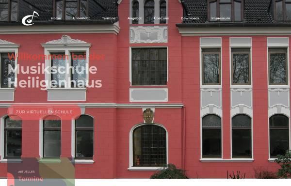 Vorschau von www.musikschule-heiligenhaus.de, Musikschule Heiligenhaus - Förderverein