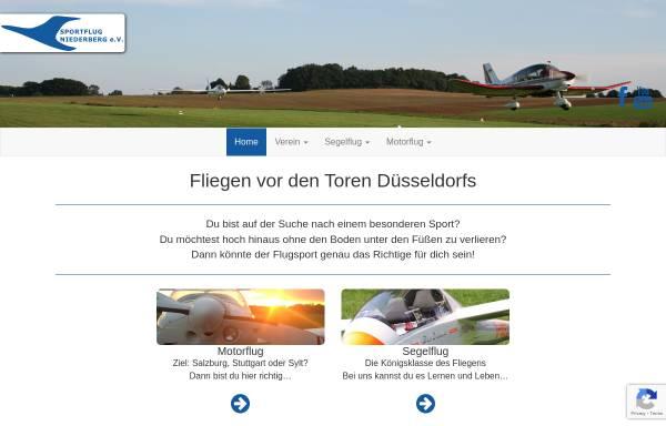 Vorschau von www.sportflug-niederberg.de, Sportflug Niederberg e.V.