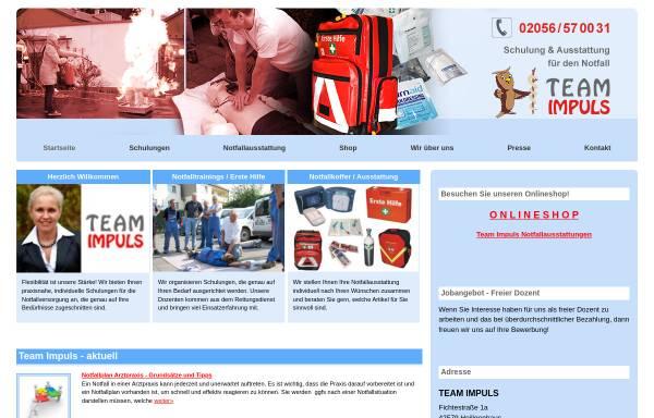 Vorschau von www.teamimpuls.de, Team Impuls