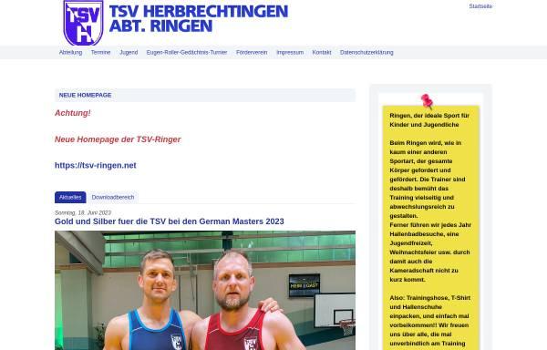 Vorschau von www.herbrechtingen-ringen.net, TSV Herbrechtingen e.V. - Ringen