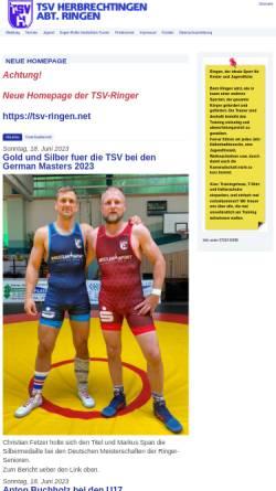 Vorschau der mobilen Webseite www.herbrechtingen-ringen.net, TSV Herbrechtingen e.V. - Ringen