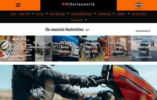 Vorschau von www.harley-world.de, K&M Harley World