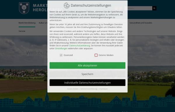 Vorschau von www.heroldsberg.de, Heroldsberg