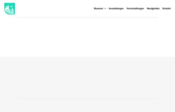 Vorschau von www.wilhelm-fabry-museum.de, Wilhelm-Fabry-Museum