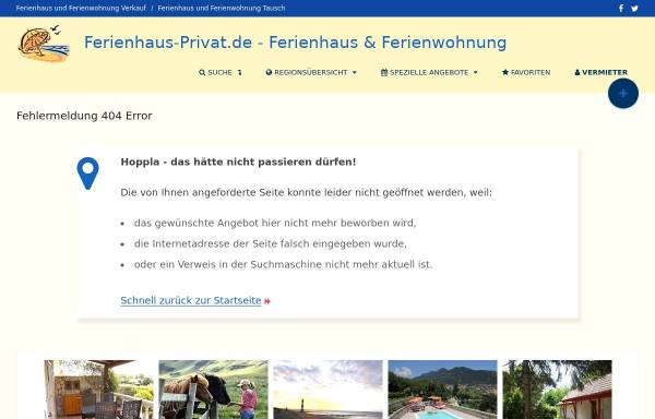 Vorschau von www.ferienhaus-privat.de, Ferienwohnung Haus Cilli