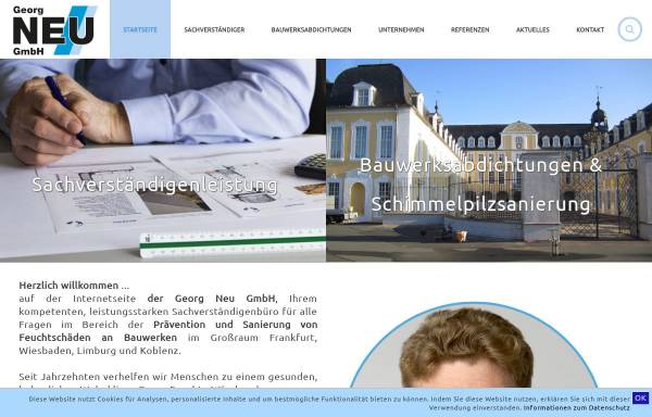 Vorschau von www.bau-neu.de, Bauunternehmen Neu GmbH