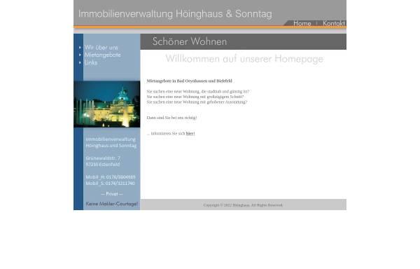 Vorschau von www.sonntag-immobilien.com, Sonntag Immobilien