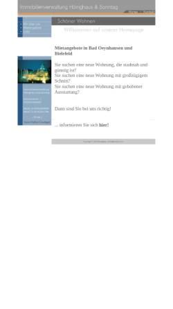 Vorschau der mobilen Webseite www.sonntag-immobilien.com, Sonntag Immobilien