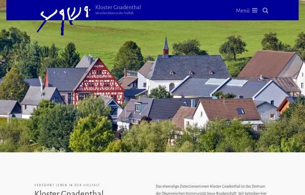 Vorschau von www.jesus-bruderschaft.de, Jesus-Bruderschaft Gnadenthal